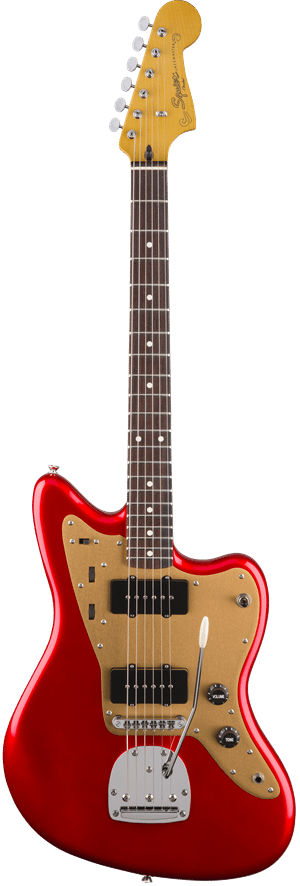 Squier Deluxe Jazzmaster with Tremelo