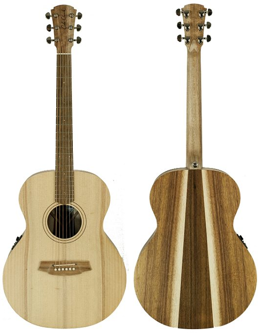 Cole Clark Angel 1E Bunya Blackwood
