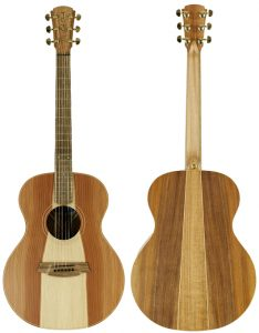 Cole Clark Angel 2 Redwood Blackwood