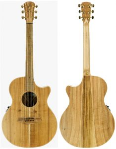 Cole Clark Angel 2EC All Blackwood