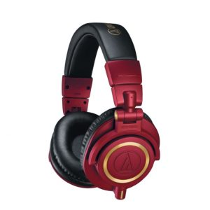 Audio Technica ATH-M50xRD LIMITED EDITION RED Studio Monitoring Headphones