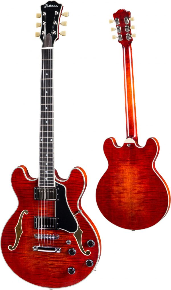 Eastman T484 Thinline Electric Brown