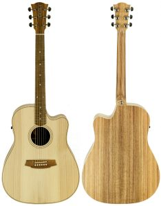 Cole Clark Fat Lady 2EC Bunya Blackwood