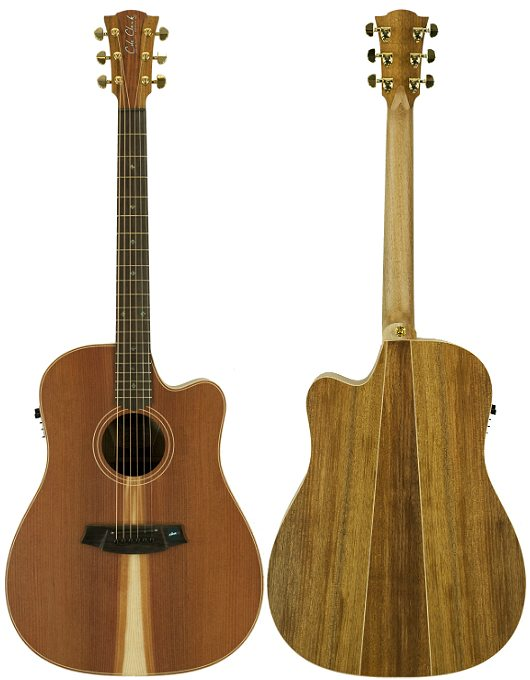 Cole Clark Fat Lady 2EC Redwood Blackwood