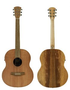 Cole Clark Little Lady 1 Redwood Blackwood