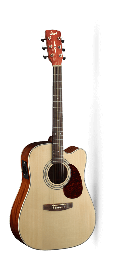 Cort MR500E Dreadnought with Pick Up