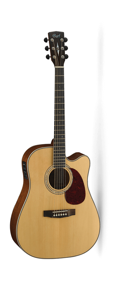 Cort MR710F Dreadnought with Pick Up