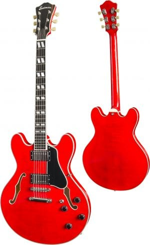 Eastman T486 Thinline Electric Red
